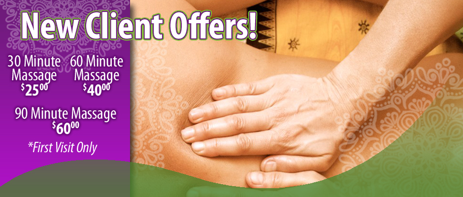 PUEBLO MASSAGE NEW CLIENT SPECIAL