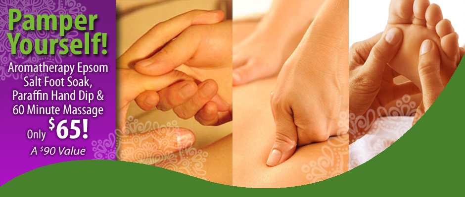 Pueblo Massage Special Pamper Yourself
