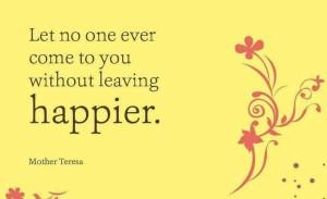 Leave happier