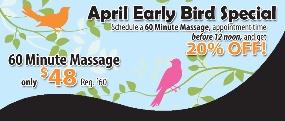 April Special Pueblo Massage
