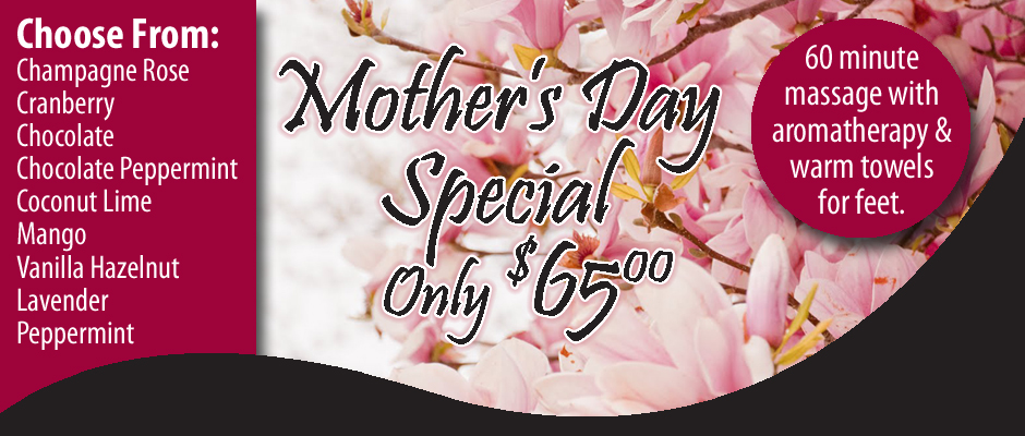 Pueblo Massage Mother's Day Special